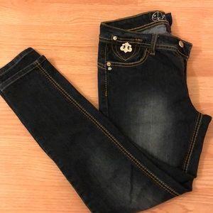 Rare Dereon Jeans by Beyoncé , size 3/4 .